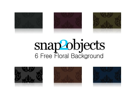 Free Vector and Bitmap Floral Backgrounds