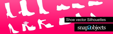 Shoe Vector Silhourttes